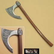 Viking / Celtic Bearded Battle Axe - 8th Century Scandinavian
